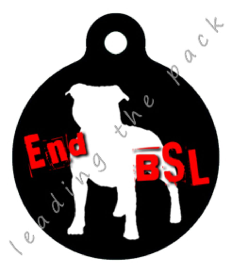 End BSL round shaped tags