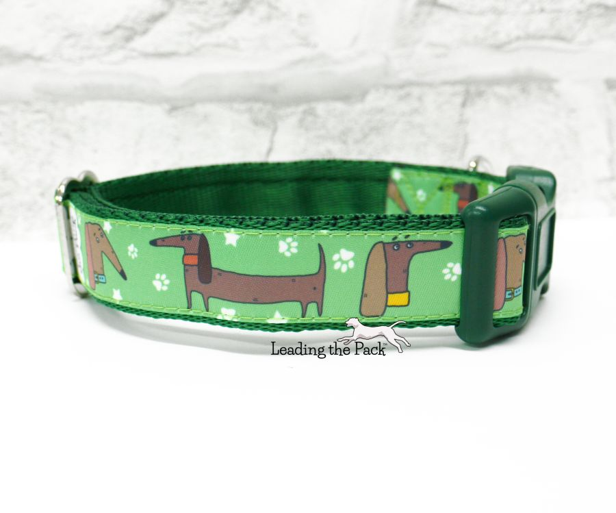 20/25mm doodle dachshund collars & leads