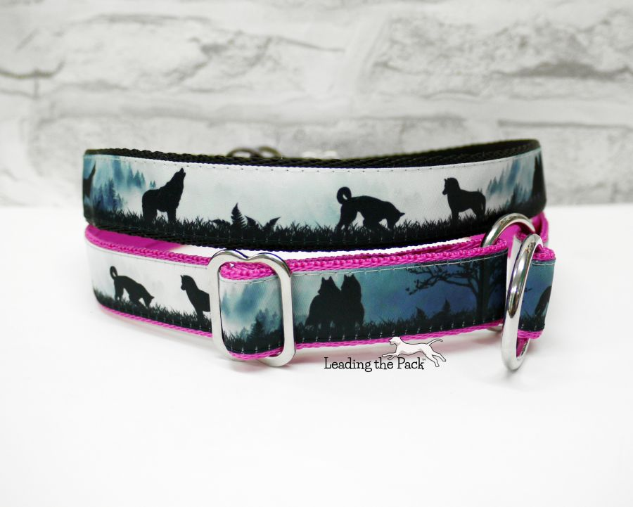 20/25mm misty morning husky collars & leads