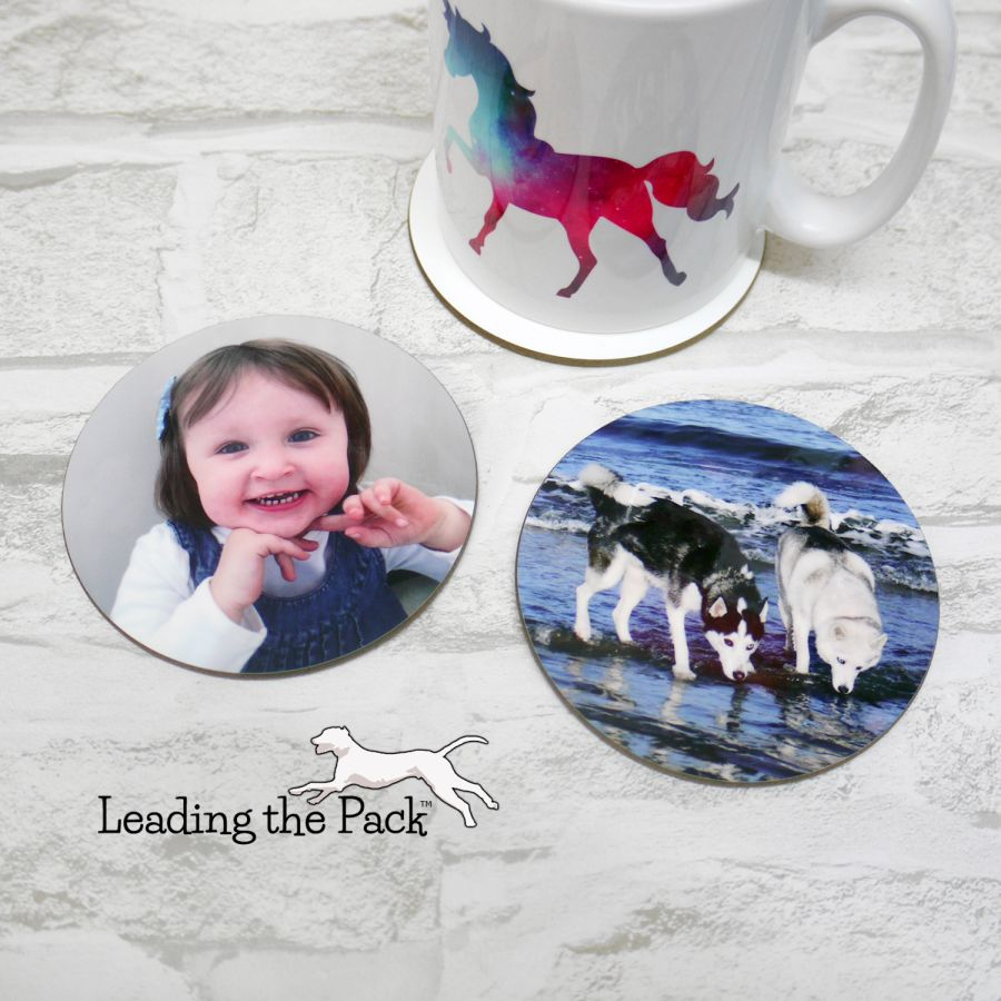 Personalised image coasters