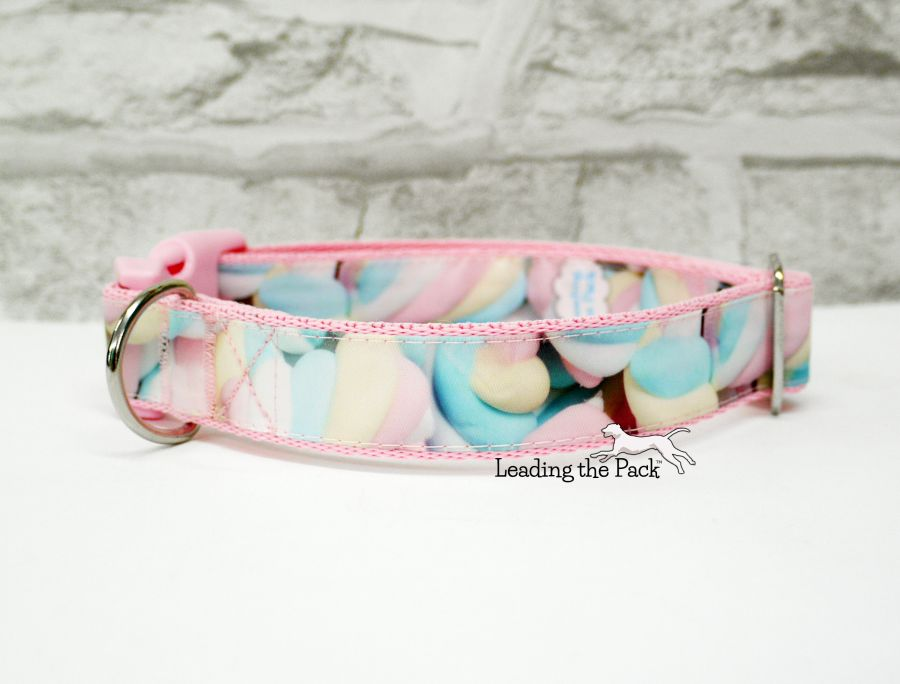 20/25mm marshmallows sweets collars & leads