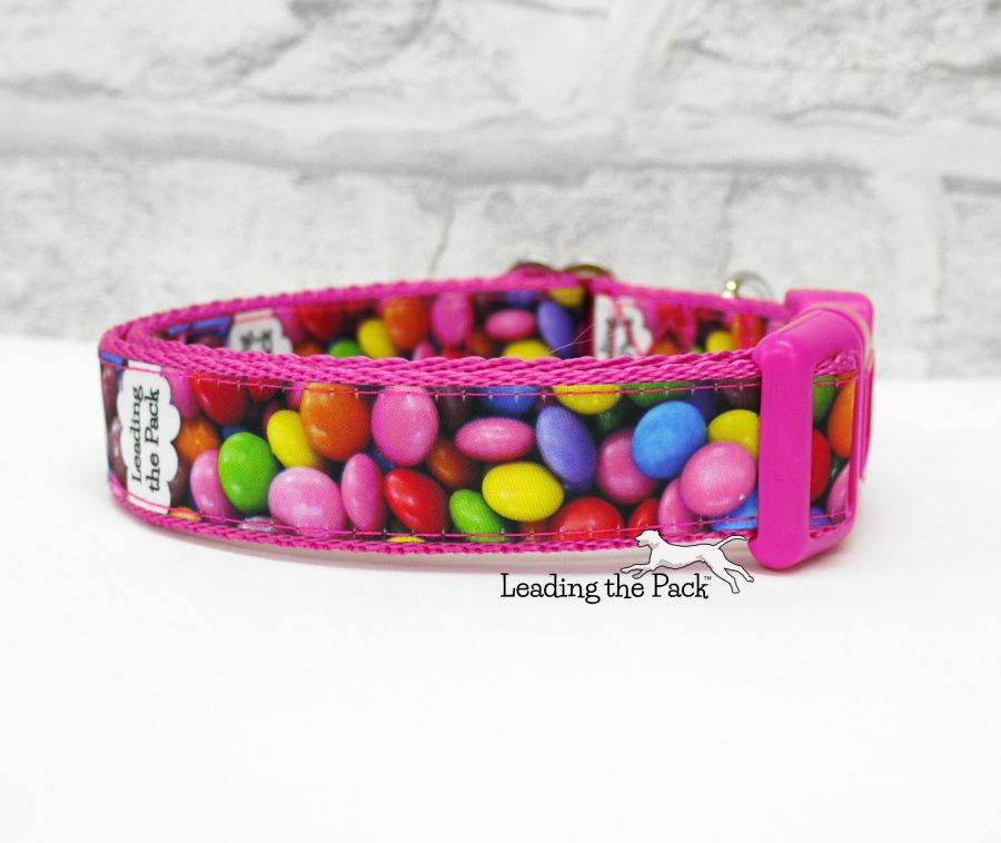 20/25mm chocolate beans sweets collars & leads