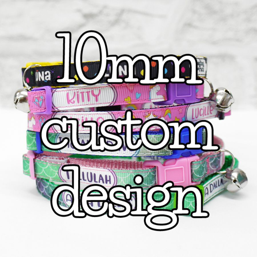 10mm custom design collars & leads