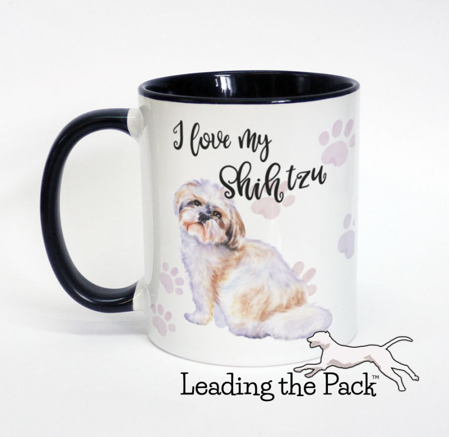 I love my shih tzu mugs & coasters