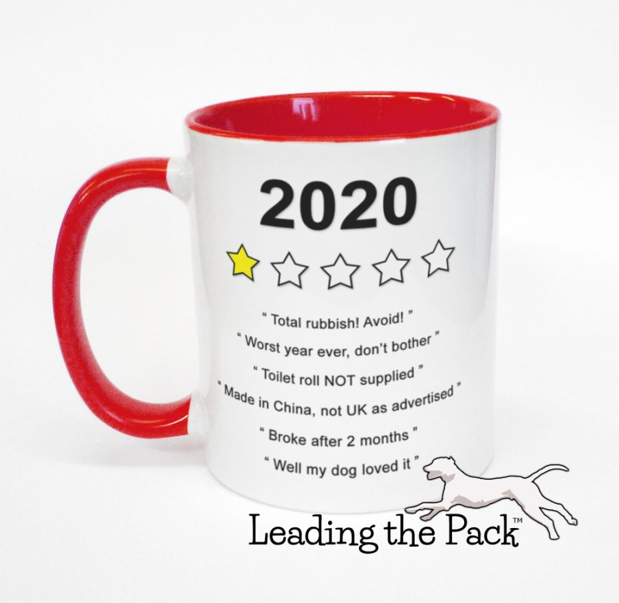 Year 2020 review mugs & coasters