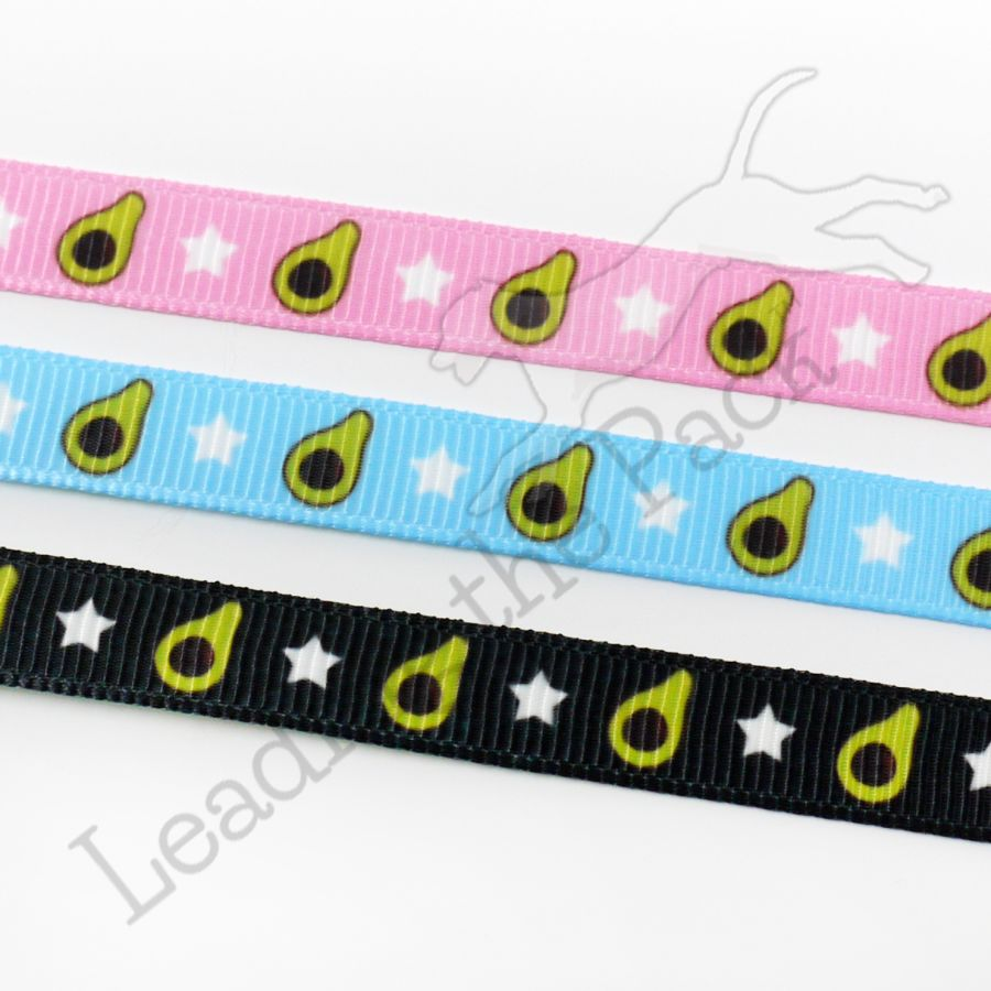 10mm avocado collars & leads