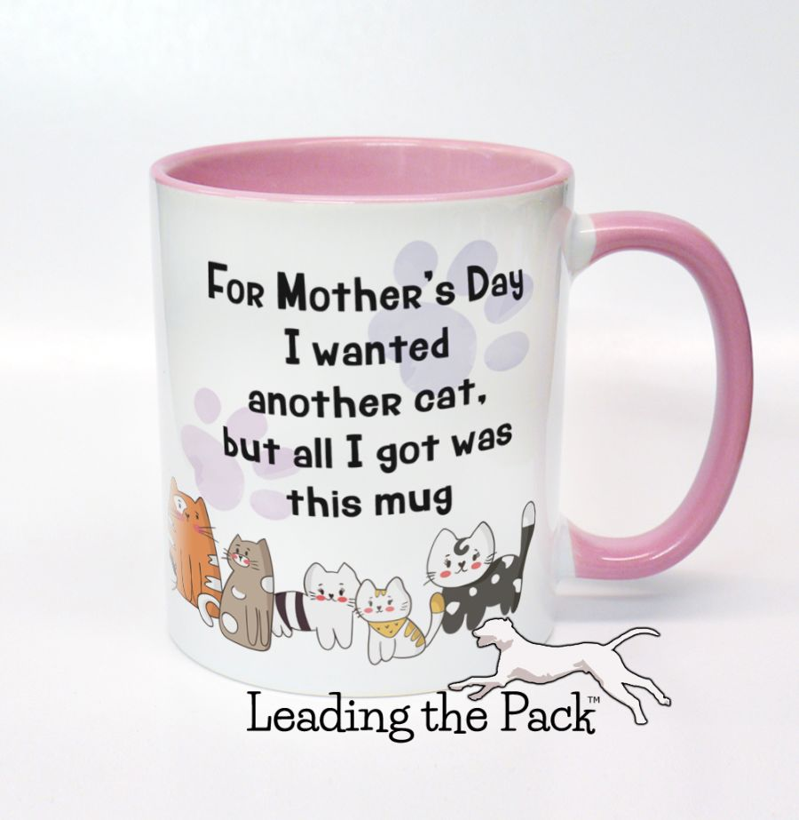 Another cat Mother's day mugs & coasters