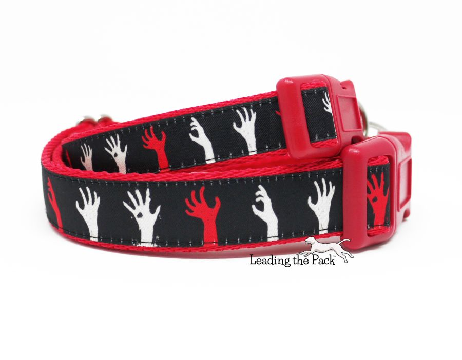 20/25mm zombie hands collars & leads