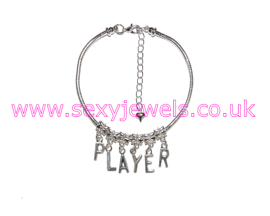 Euro Anklet / Ankle Chain `PLAYER`