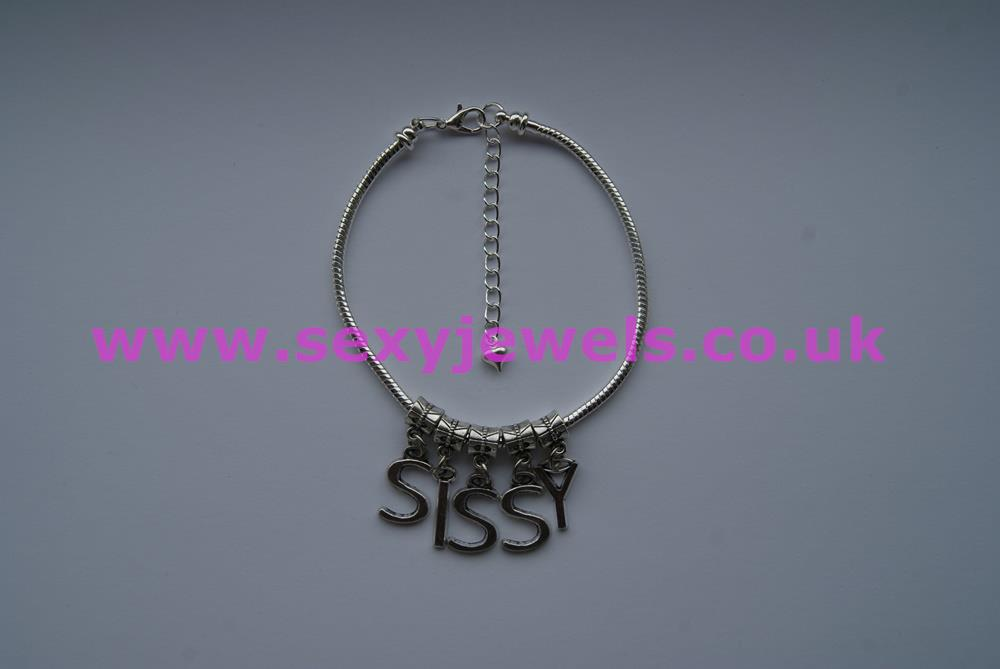 Euro Anklet / Ankle Chain `SISSY` (LL) Wimp