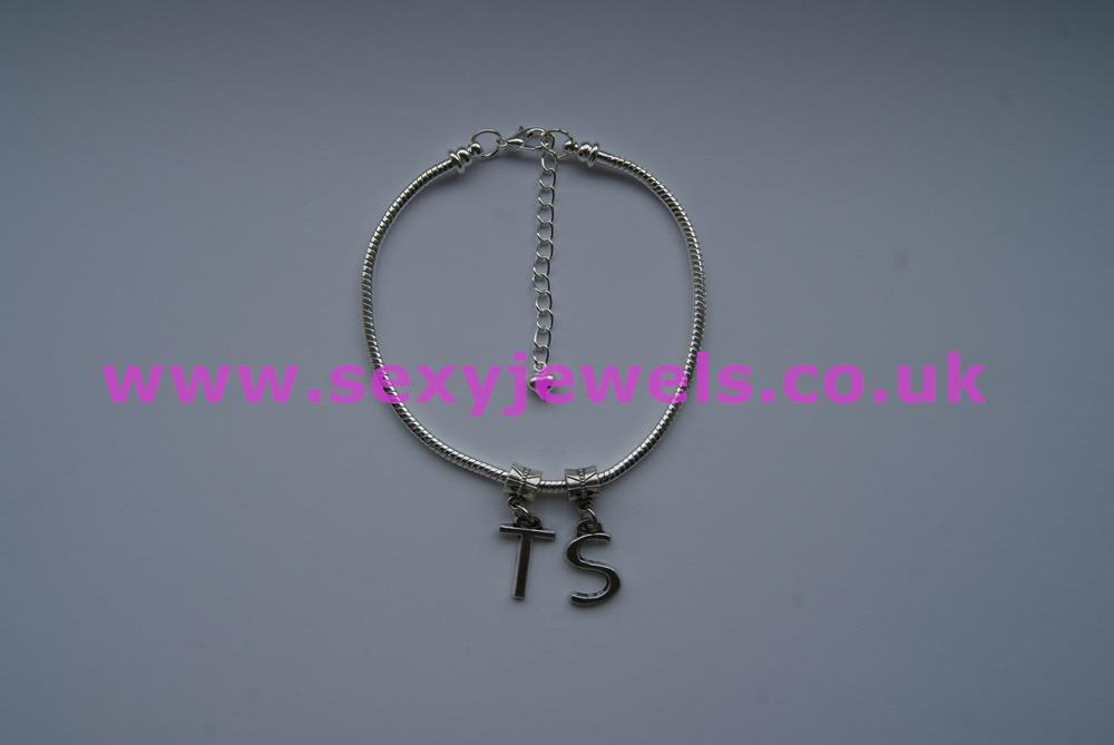 Euro Anklet / Ankle Chain `TS` (LL) Transexual Transgender Tranny Gurl