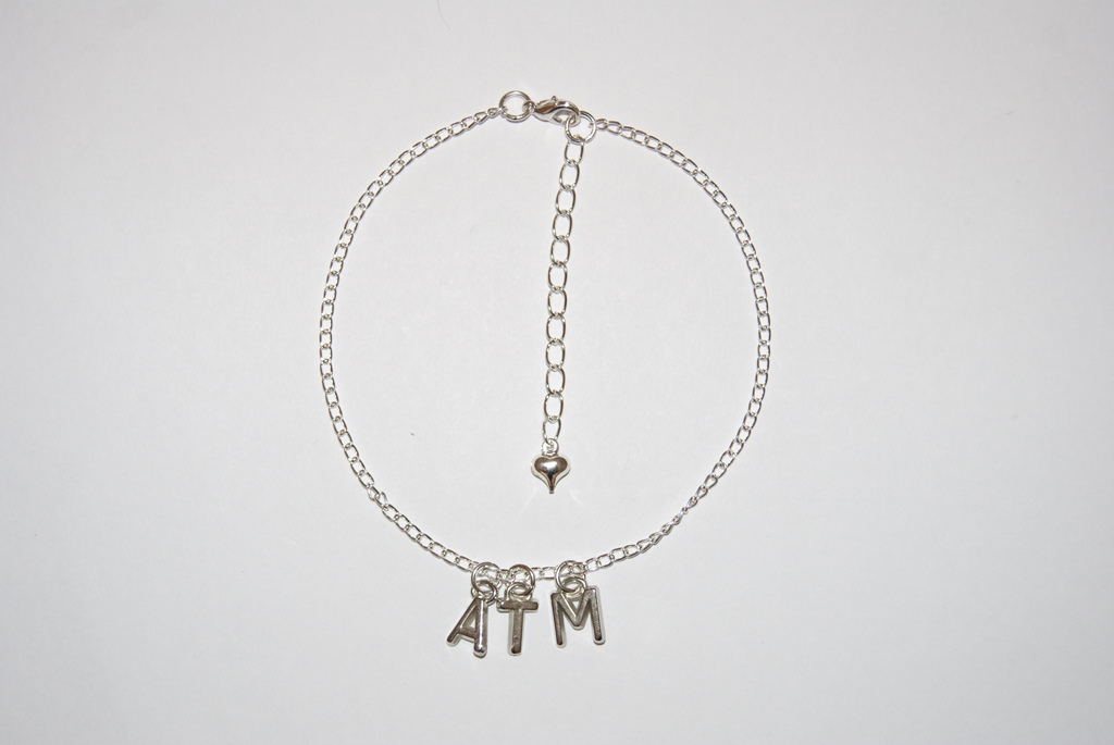Ankle Chain `ATM` Anklet for Ass To Mouth Lovers
