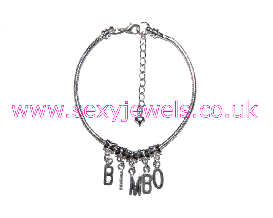 Euro Anklet / Ankle Chain `Bimbo` Glamour