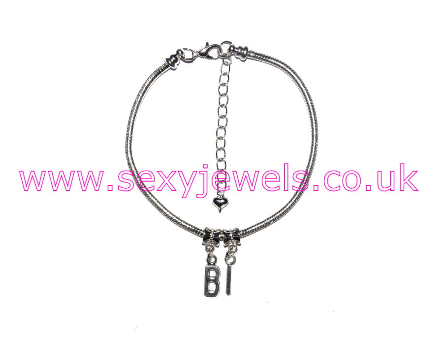 Euro Anklet / Ankle Chain `BI` Bisexual Threesome