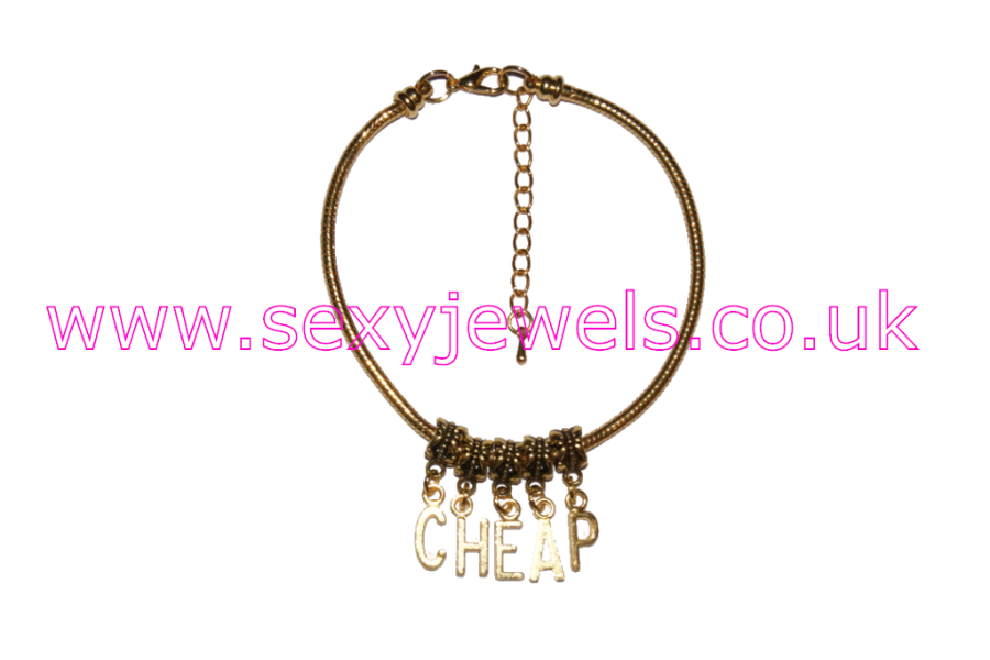 `CHEAP`Euro Anklet / Ankle Chain  Gold