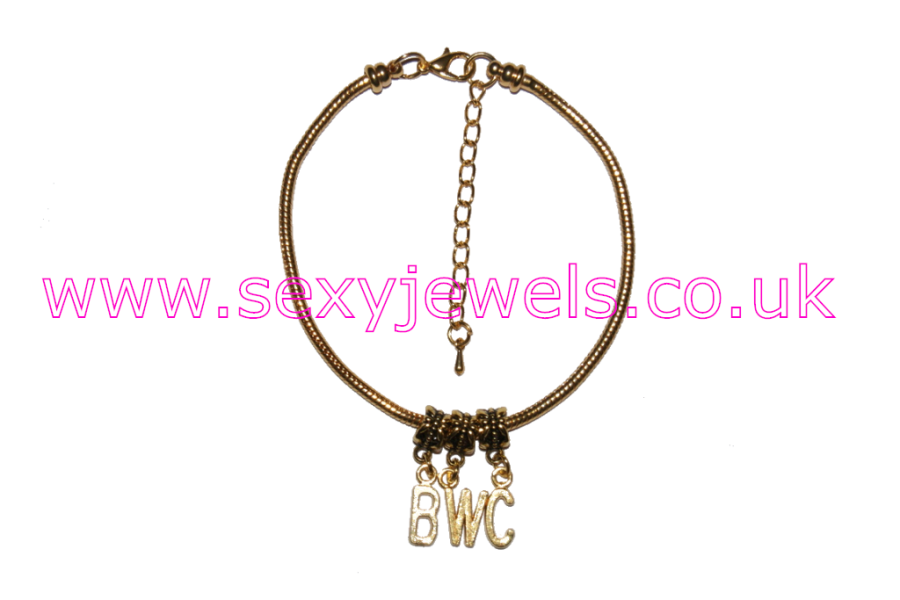 BWC Euro Anklet / Ankle Chain Big White Cock Gold