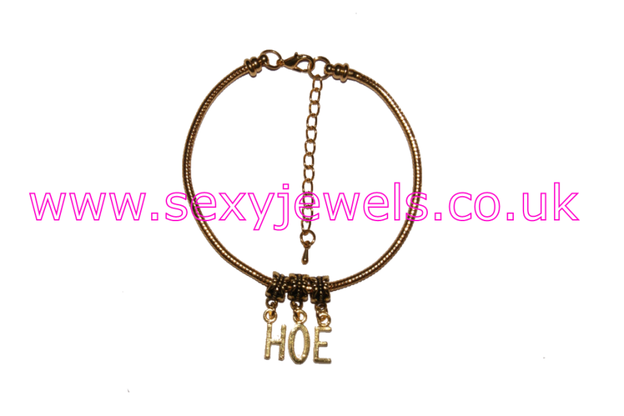 HOE Gold Euro Anklet / Ankle Chain