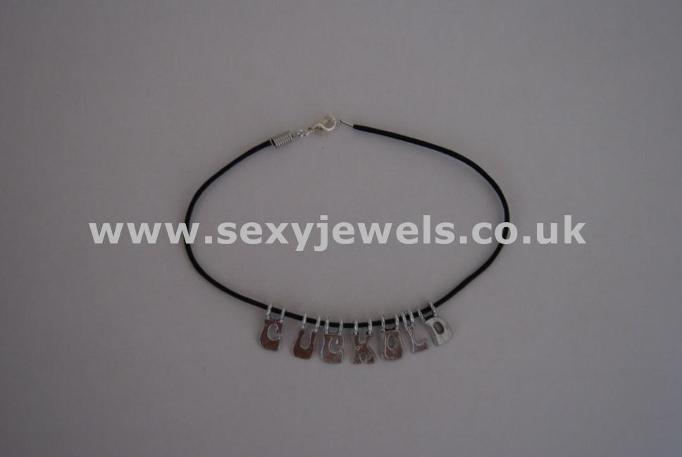 Cuckold Leather Cord Anklet