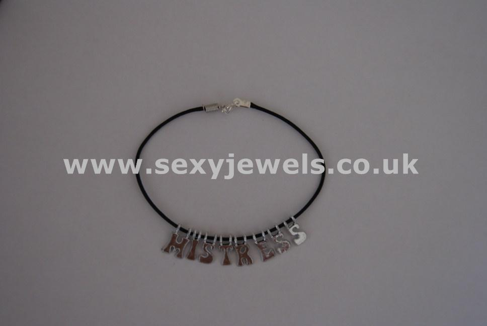 Mistress Leather Cord Anklet