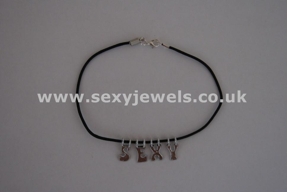 Sexy Leather Cord Anklet