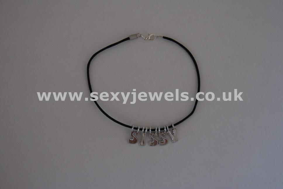 Sissy Leather Cord Anklet