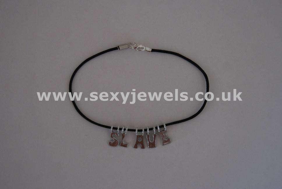 Slave Leather Cord Anklet