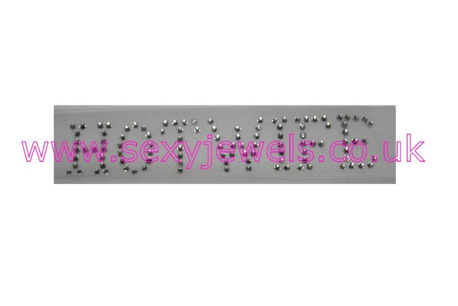 Hotwife Hot-fix Diamante Rhinestone Clothing Bling Transfer