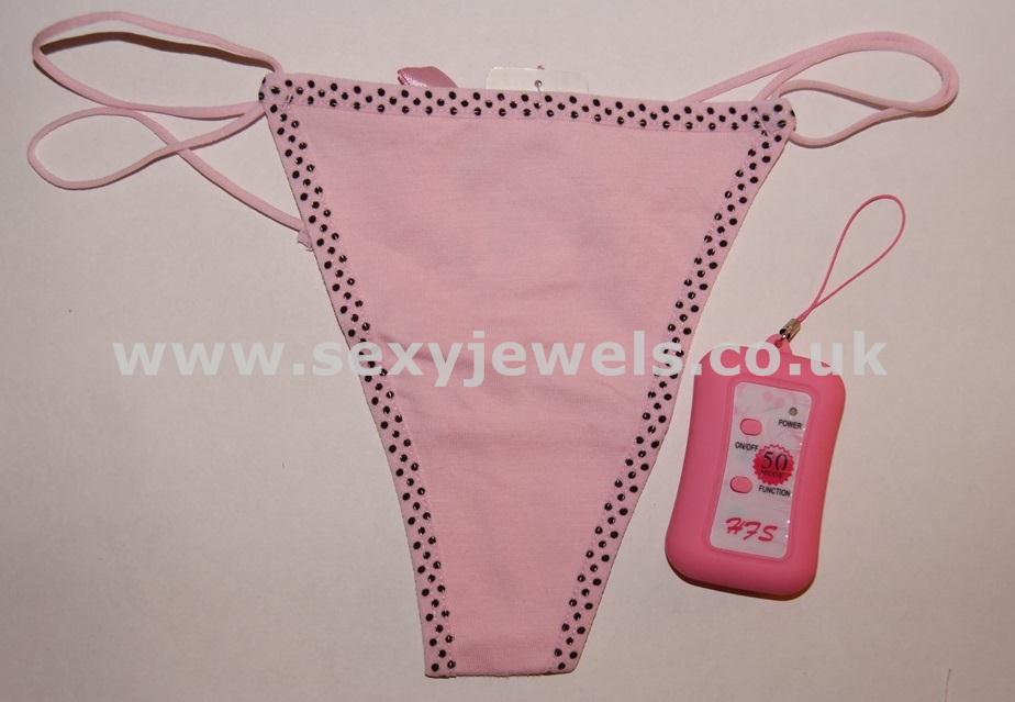 Remote Control Vibrating Panties (Pink)