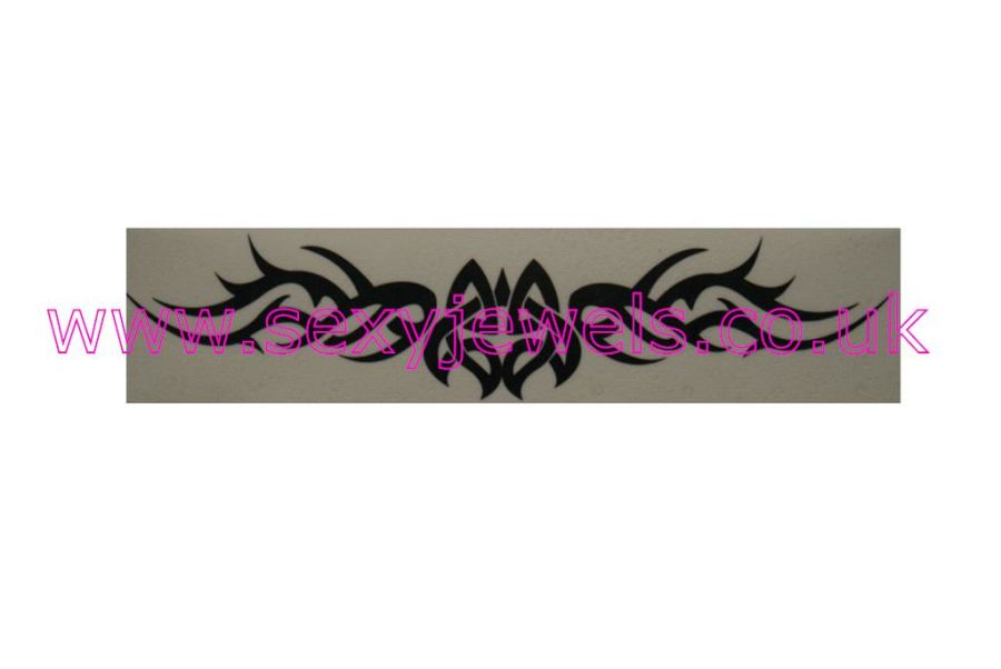 Temporary Tattoo - Tribal Tramp Stamp Lower Back