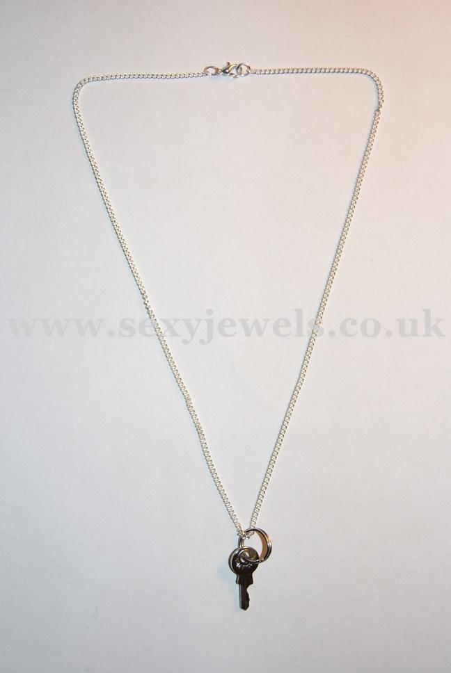 Sexy Cuckold Keyholder Chastity Plain Necklace for Mistress