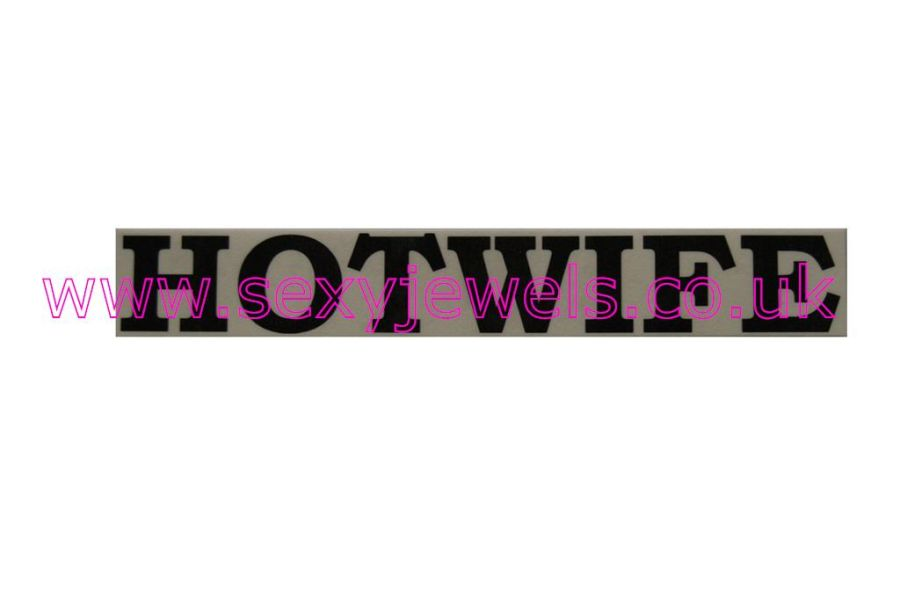 Temporary Tattoo - Hotwife Lower Back or Stomach