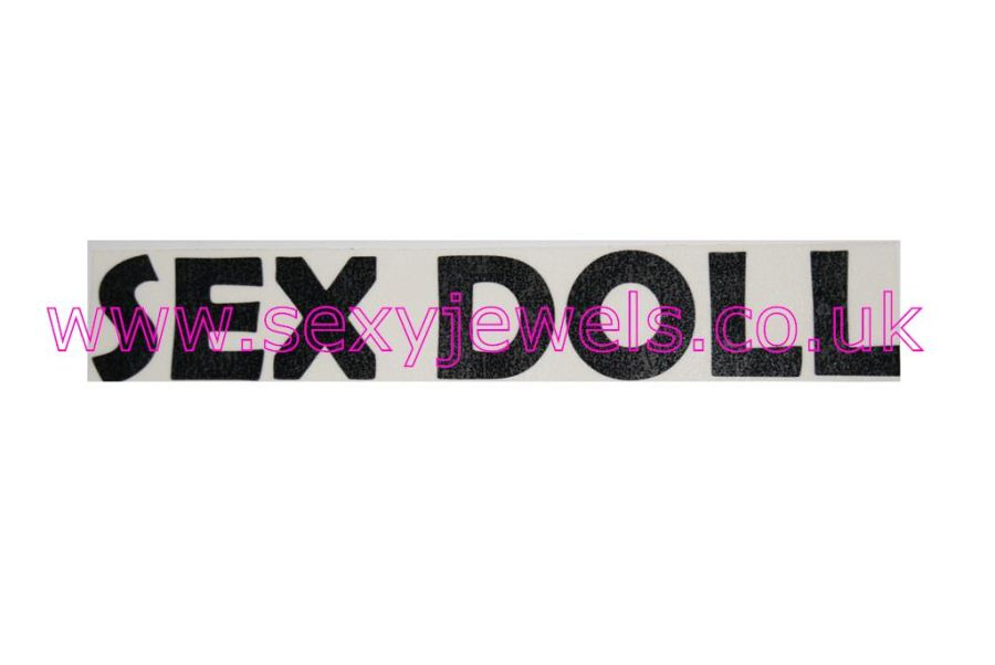 Temporary Tattoo - Sex Doll Lower Back or Stomach