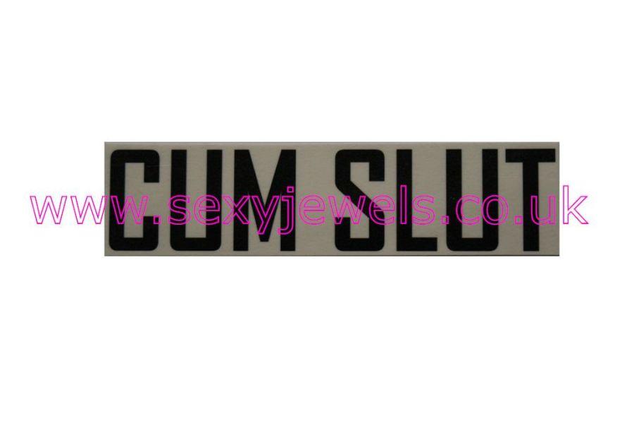 Temporary Tattoo - Cum Slut Lower Back or Stomach