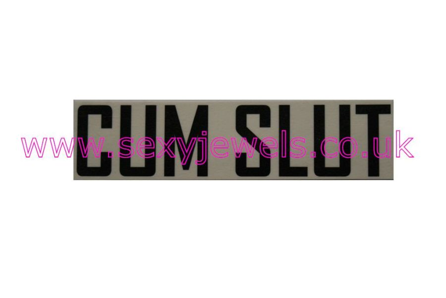 Temporary Tattoo - Cum Slut Lower Back or Stomach