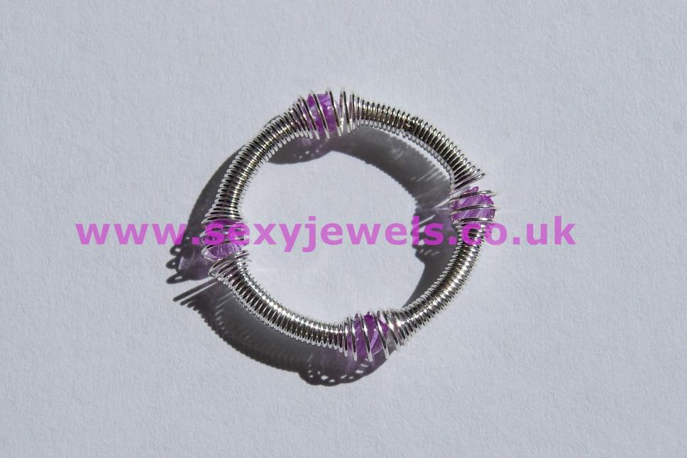 Sexy Spring Toe Ring - Purple