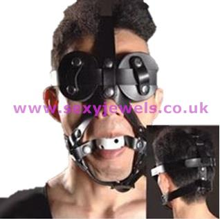 Ball Gag - Pony Play Head Harness