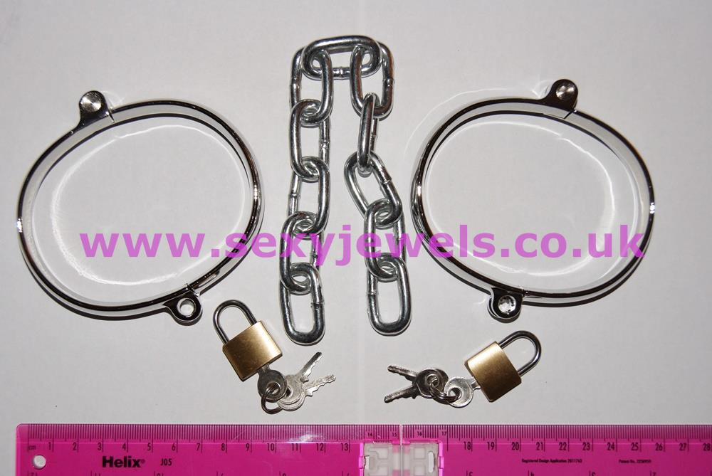 Stainless Steel Anklecuffs Ankle Irons