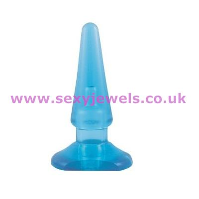 Budget Smooth Sensations Cone Beginners Butt Plug (Large)