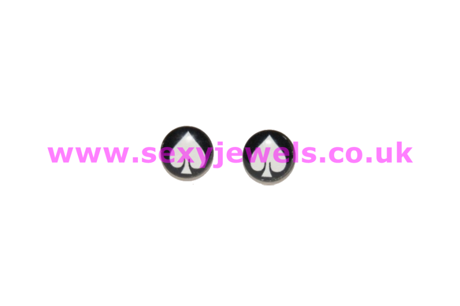 Queen Of Spade Earrings - Style 6 BBC Lover