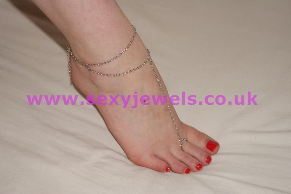 Silver Colour Foot Thong Chain