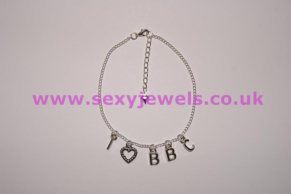 Ankle Chain `I Love BBC`