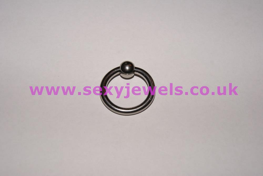 Stainless Steel Glans Ring / Impotence Aid