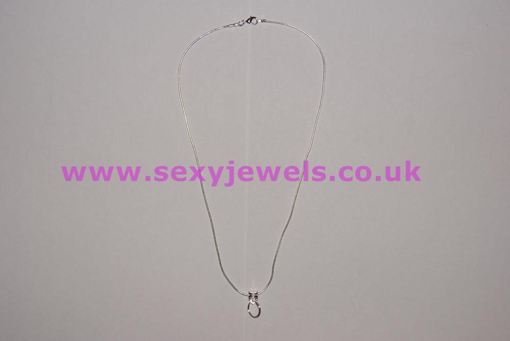 Euro Necklace For Hotwife Mistress Keyolder with Key Ring