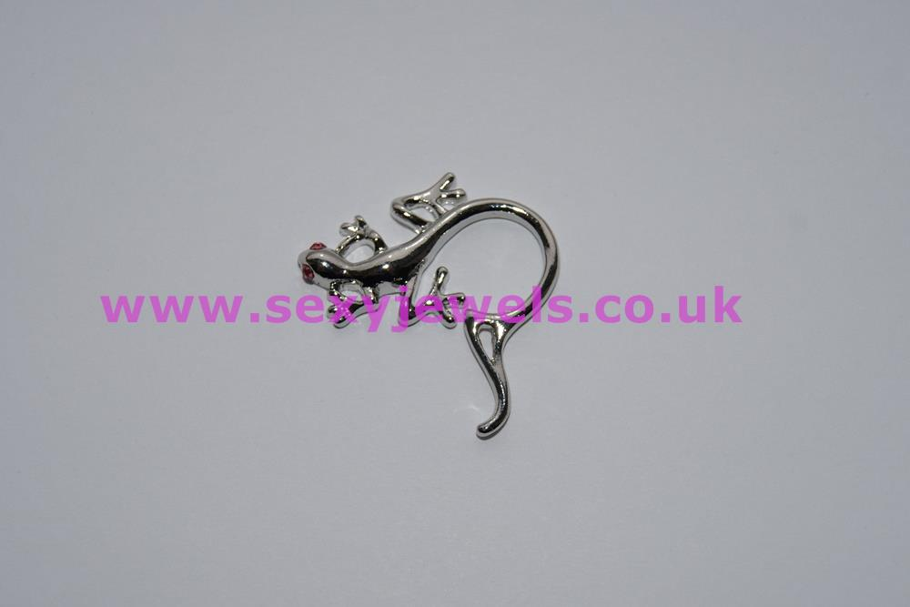 Lizard Style Nipple Ring Non-Piercing