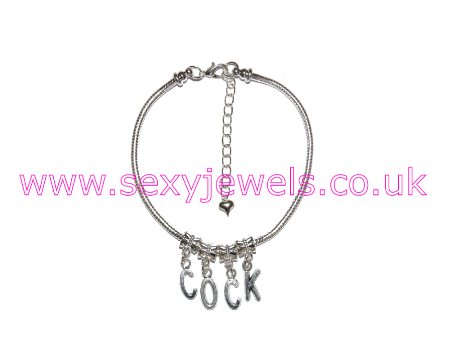 Euro Anklet / Ankle Chain `COCK`