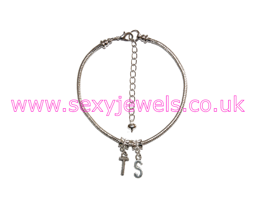 Euro Anklet / Ankle Chain `TS` Transexual Transgender Tranny Gurl
