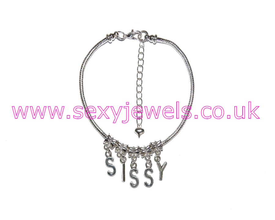 Euro Anklet / Ankle Chain `SISSY` Wimp