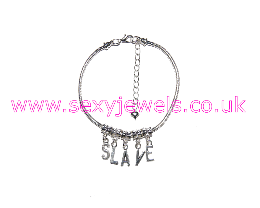 Euro Anklet / Ankle Chain `SLAVE`