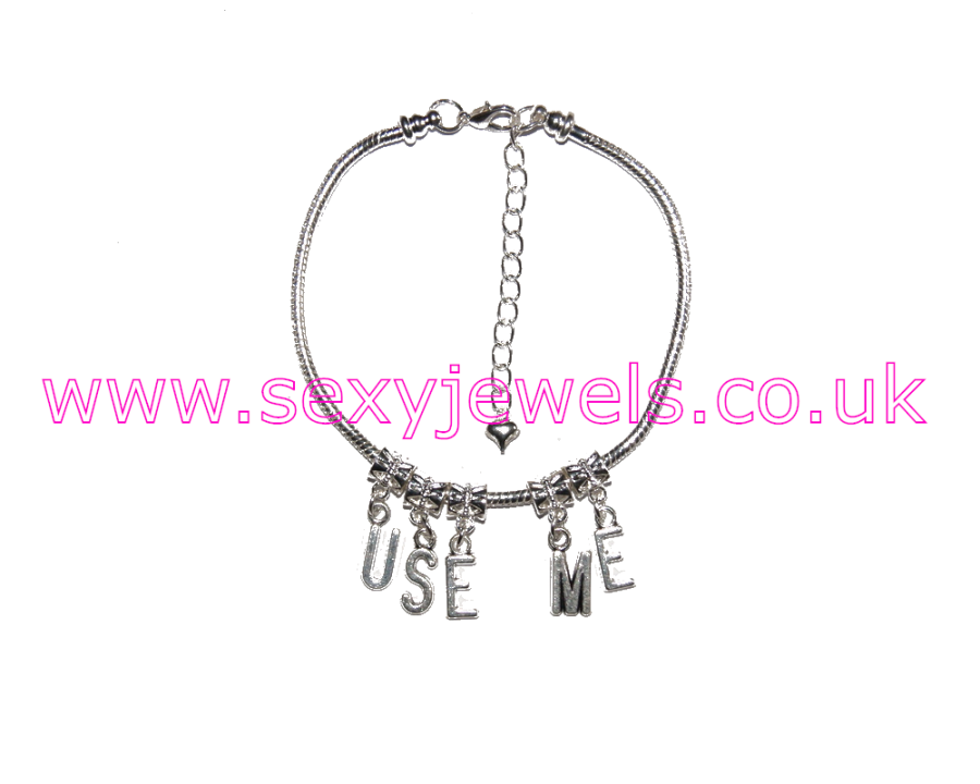 Euro Anklet / Ankle Chain `USE ME`