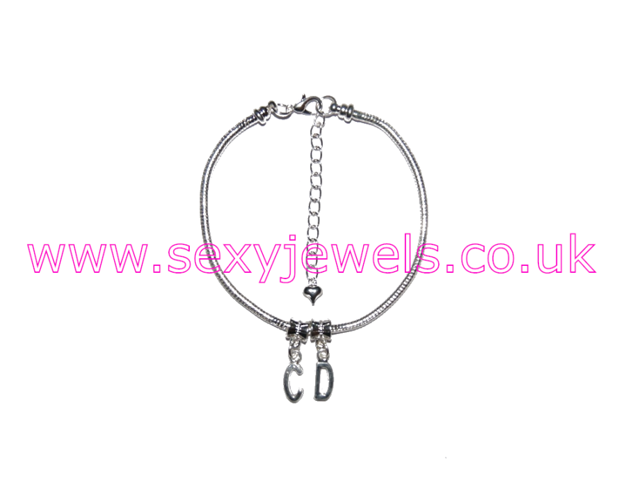 Euro Anklet / Ankle Chain `CD` Crossdresser